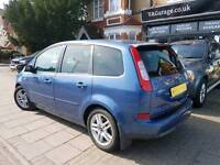 2005 Ford Focus C-Max 2.0 TDCi DPF Ghia 5dr, FULL SERVICE HISTORY, LADY OWNER