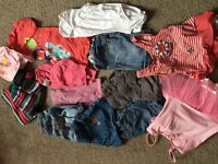 Small girls clothes bundle age 1-2