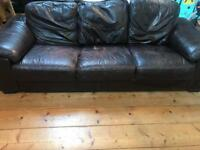 Free four seater sofa