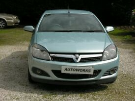 VAUXHALL ASTRA 1.6 MANUAL CONVERTIBLE SALOON