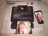 Canon SELPHY CP1200 Compact Photo Printer - Black (NEW and Unused!)