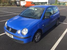 2003 VW Polo 1.2 MOT to February