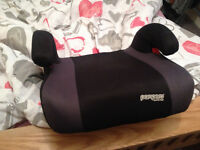 Pampero car seat for 4-12 year old