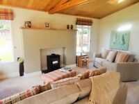 Brand new Luxury Lodge for sale at Trecco Bay Holiday Park Forester Prestige Lodge
