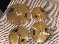 Meinl HCS Cymbal Pack with RocketMusic BAG
