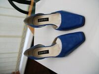 Jacques Vert, Blue, Size 39 (5.5/6) Never Worn: Excellent Condition