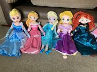 Disney princess dolls. £4 each
