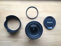 CANON 24-70mm f:4 L IS USM + Hoya Uv 77mm filter + Carrier bag ! ! ! !