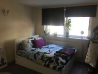 Double Bed frame with 4 storage boxes MALM