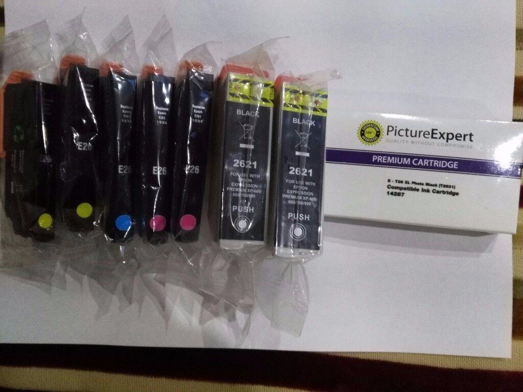Brand new Epson compatible printer cartridges