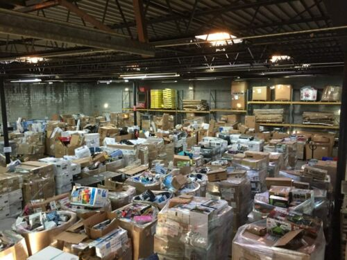 Amazon Wholesale Lot $50 Value Electronics, Toys, General Merchandise