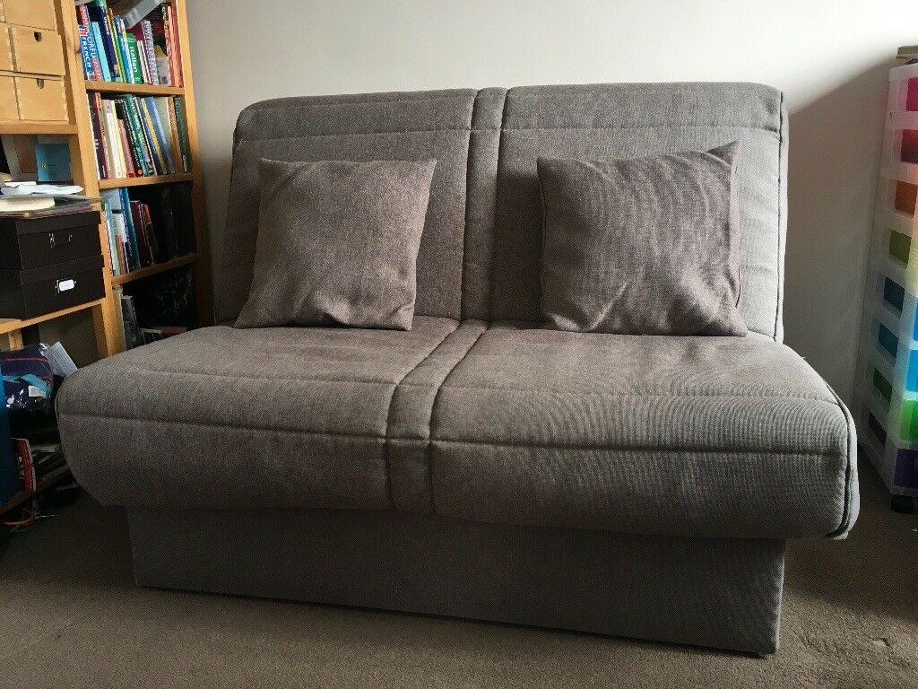 the latest 21d74 74454 Brown sofa bed by Slumberland with sprung mattress | in Seaton Delaval,  Tyne and Wear | Gumtree