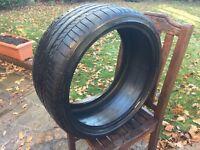 255 30 19 x 1 Bridgestone Potenza RE050A* 91Y Nearly NEW BMW Run Flat Tyre 6MM