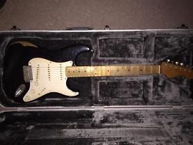 Fender stratocaster road worn 50's black