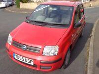 2005 Fiat Panda Dynamic 1.2 Petrol Red 5 Door 12 Months MOT Cheap to insure & run Bargain LOW MILES