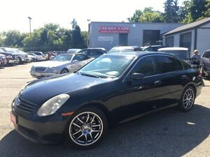2006 Infiniti G35 Leather | Bose Sound System | Moonroof