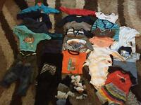 9-12 month baby boy clothes bundle