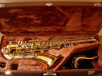 Yamaha YTS 25 tenor saxophone in great condition, -good reliable, high performing sax