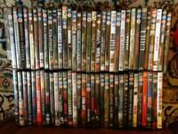 60+ Horror/Thriller DVD's