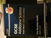 Ocr gcse science additional science text revision book