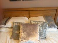 Kingsize Bed Solid Oak