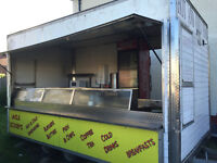14ft catering/burger trailer