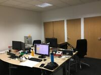High Spec Office & Workshop w/Parking, Rates & Utilities - 1 office remaining