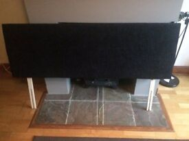 Brand New 5ft Standard King Size Chenille Black Headboard