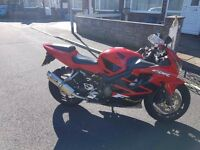 Honda CBR 600 FS. Very low mileage & great condition