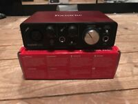 Focusrite Scarlett Solo (2nd Gen) USB Audio Interface [BARELY USED]