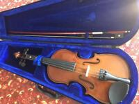 Students 1/2 size violin to suit a beginner