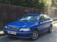 VOLVO S40 1.6L PETROL + ONLY 72K MILES + M.O.T 04/2017 +