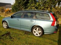 Volvo V50 2.0D R-design very clean example in orinoco blue, high spec level including