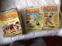 Beano Comics 230 issues from 1995-2000