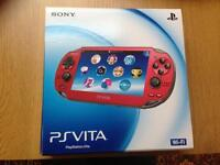 ps vita ruby cosmic redlimited edition (Brand new)