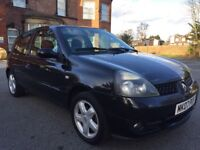 Low miles 78k 2007 Renault Clio 1.2 Campus Sport I-Music 3dr * ideal first car
