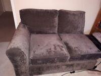 Next 2 Seater Brown Sofa