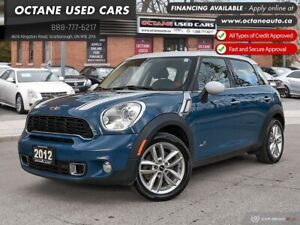 2012 Mini Cooper S Countryman Accident Free! AWD! Leather!