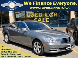 2012 Mercedes-Benz S-Class 350 BlueTEC 4MATIC, 2 Years Warranty,