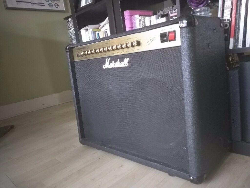 Marshall JCM 600 combo amp