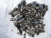 valves. over 100 old valves