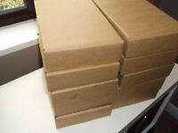 Used cardboard boxes ideal if you are moving home various sizes, can deliver locally