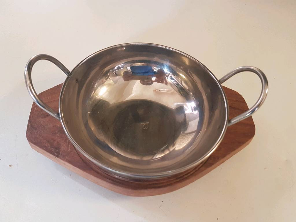 Curry serving dish