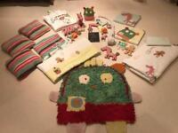 Nursery Set Mamas and Papas Gingerbread - 21 pieces!