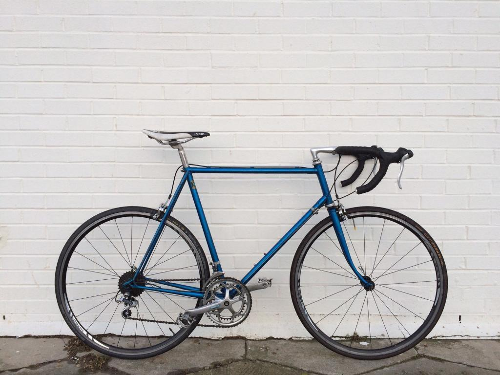 VINTAGE REYNOLDS 531c LIGHTWEIGHT BROMWICH ROAD RACING BIKE WITH ...