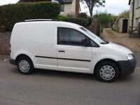 VW Caddy TDi, in White - 2006