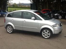 2004 AUDI A2 1.4 T.D.i # DIESEL # £30 A YEAR TO TAX # VERY ECONOMICAL 60 M.P.G #