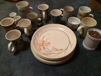Mixture Of cups & plates