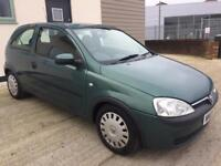 2003 VAUXHALL CORSA 1.0 NEW MOT FEBRUARY 2019, 75,000 MILES, GREAT CONDITION, READY TO GO, FIRST CAR