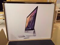 "IMac 27"" (Brand New Boxed - 2017) i5, 8GB RAM, 1TB + Accessory Kit & Software"